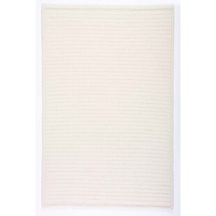 Buy Simply Home Hand-Braided White Indoor/Outdoor Area Rug By Colonial Mills