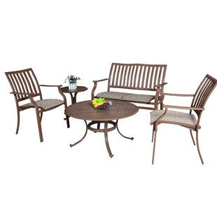 Island Breeze 5 Piece Sofa Seating Group