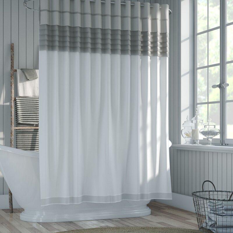 One Allium Way Santos All-in-One Shower Curtain Set