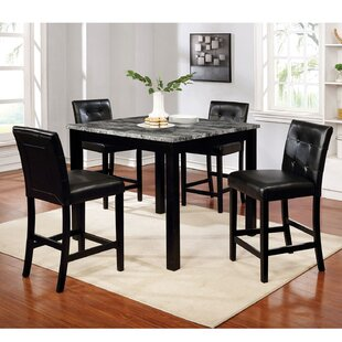Trinton 5  Piece Counter Height Dining Set by Red Barrel Studio