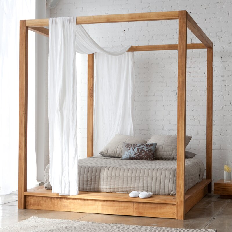 Canapy Beds mash studios pchseries canopy bed & reviews | wayfair