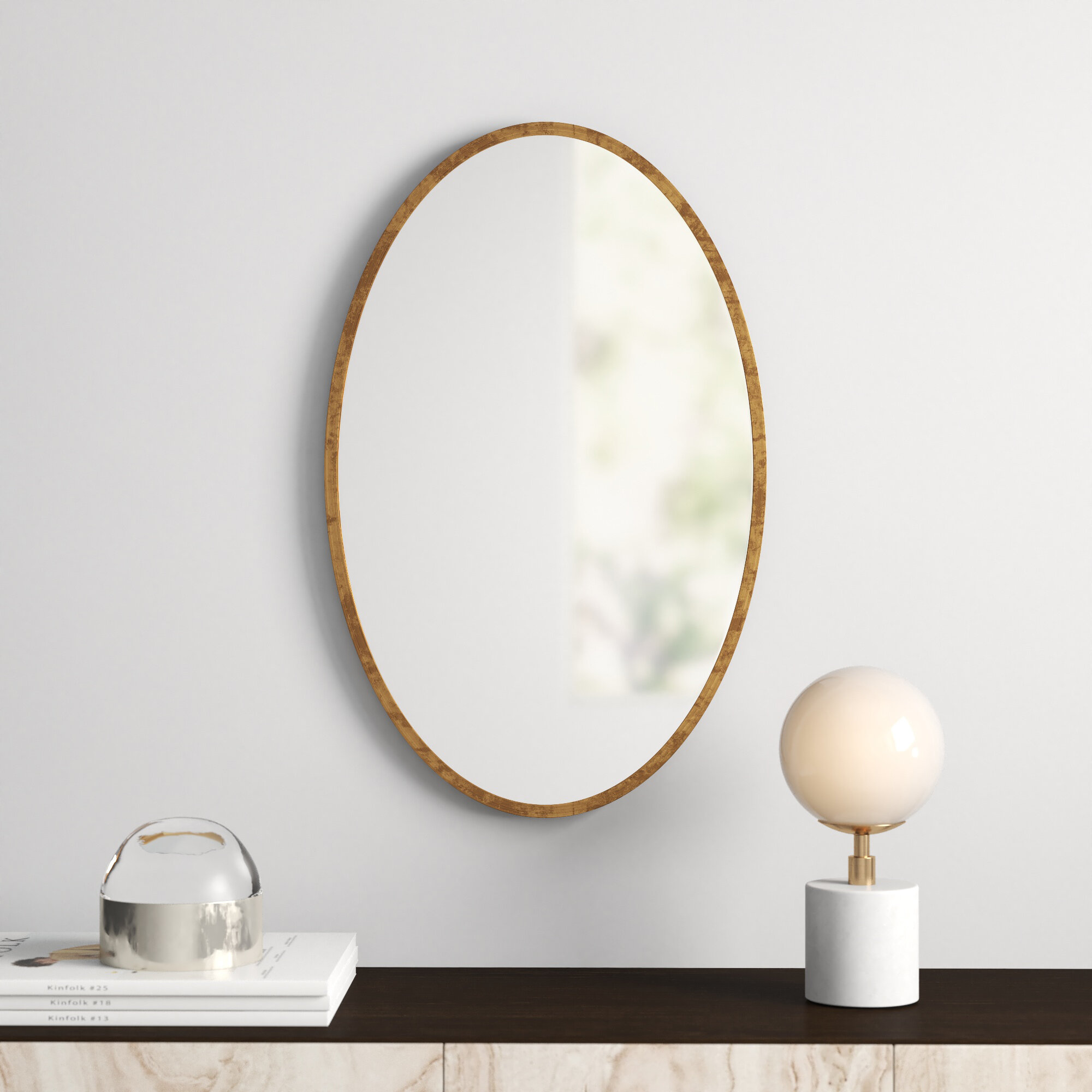 Miley Modern Contemporary Beveled Accent Mirror Reviews Allmodern