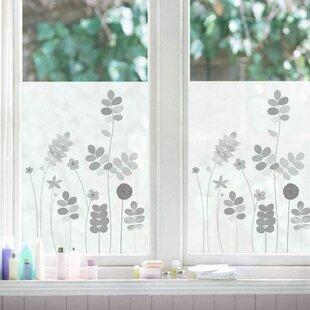 Acacia Helene Druvert Window Stickers (Set Of 2)