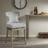 Laflamme 25.25 Swivel Counter Stool by Ophelia & Co.