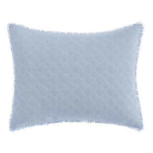 Mila Chambray Cotton Lumbar Pillow by Laura Ashley Best Choices