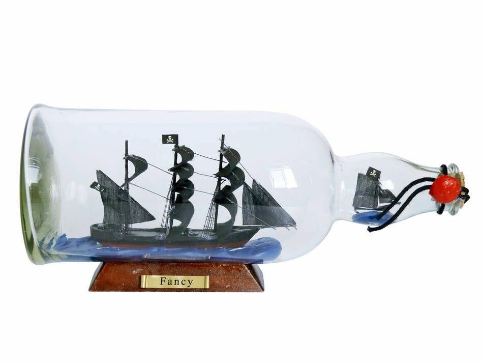 Breakwater Bay Muncy The Fancy Model Ship Glass Bottle Wayfair