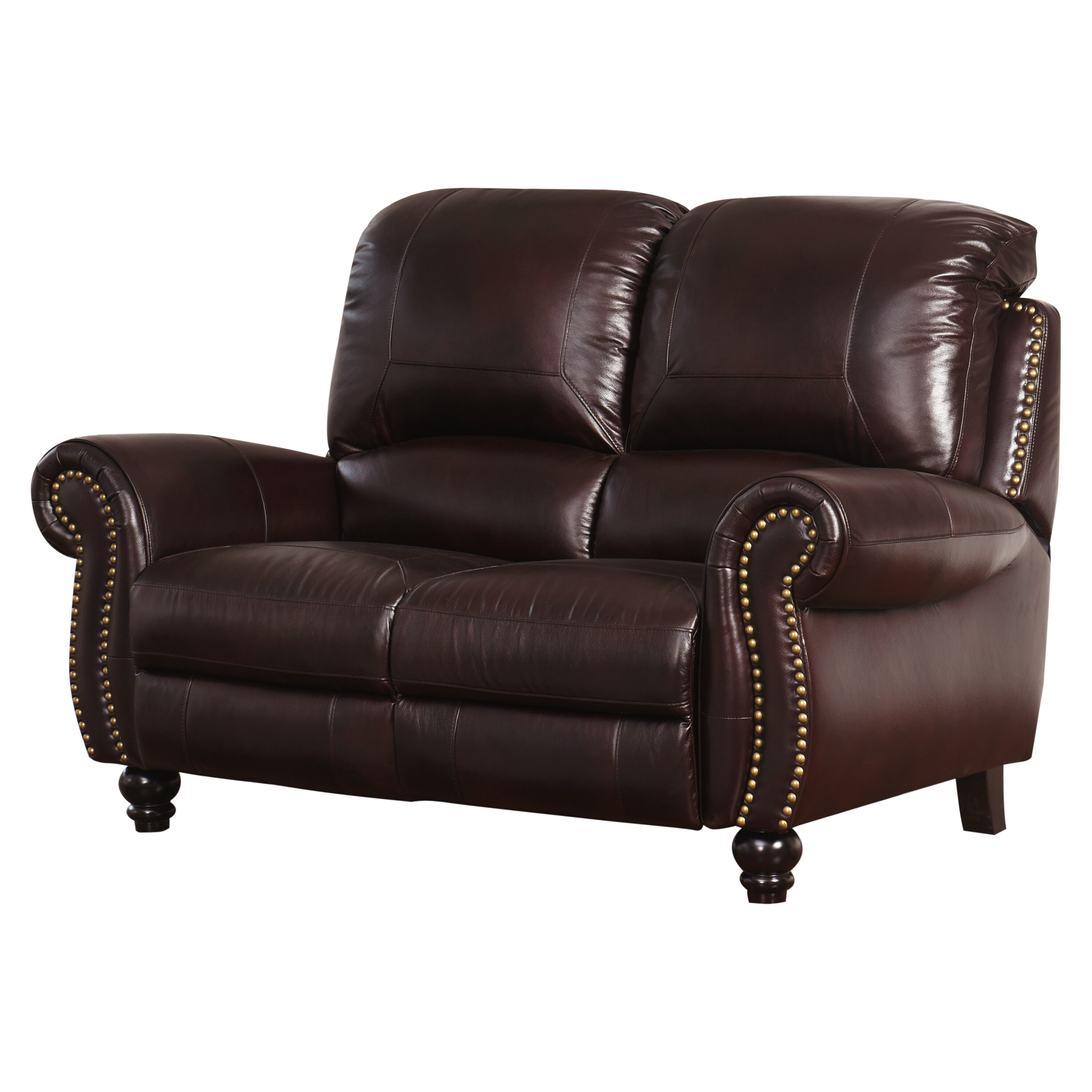 Fantastic Williston Forge Tanguay Leather Reclining Loveseat Reviews Uwap Interior Chair Design Uwaporg