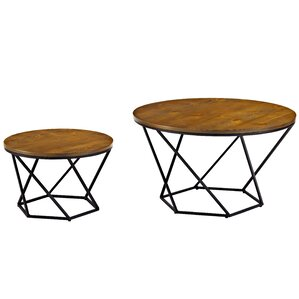 Dunavant Geometric Coffee Table by Mercury Row