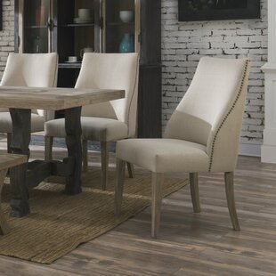 Lorna Upholstered Dining Chair (Set of 2) Lark Manor