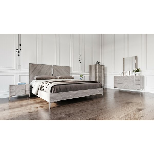 cloe platform made modern bedroom by in canada contemporary huppe sets bed set furniture