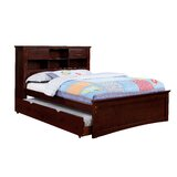 Aynor Platform Bed with Bookcase and 2 Drawers by Harriet Bee