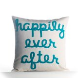 Happily Ever After Sunbrella Indoor / Outdoor Throw Pillow