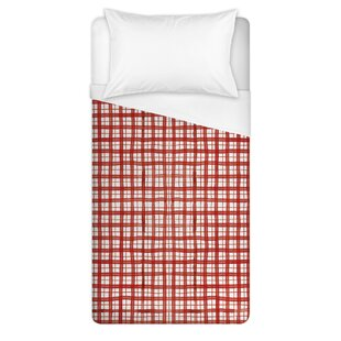 desinor christmas plaid duvet cover