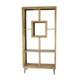 Alosio Geometric Bookcase by Foundry Select