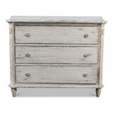 Cyprian Commode 3 Drawers Standard Dresser by One Allium Way®