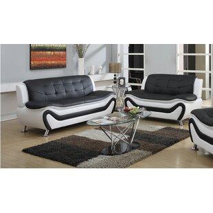 Machelle 2 Piece Living Room Set