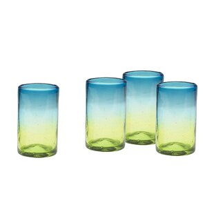 Brittingham 16 oz. Glass Highball Glass (Set of 4)