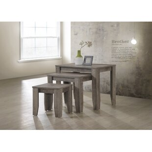 Big Save Gilsey 3 Piece Nesting Tables By Gracie Oaks
