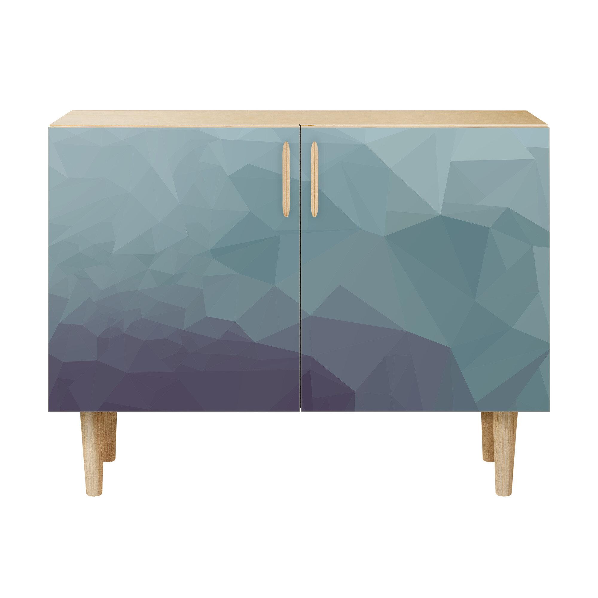 Brayden Studio Nunn 2 Door Cabinet & Reviews | Wayfair