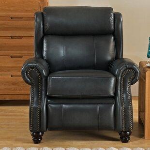Berkeley Leather Manual Recliner Amax