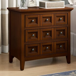 Attalla 3 Drawer Nightstand
