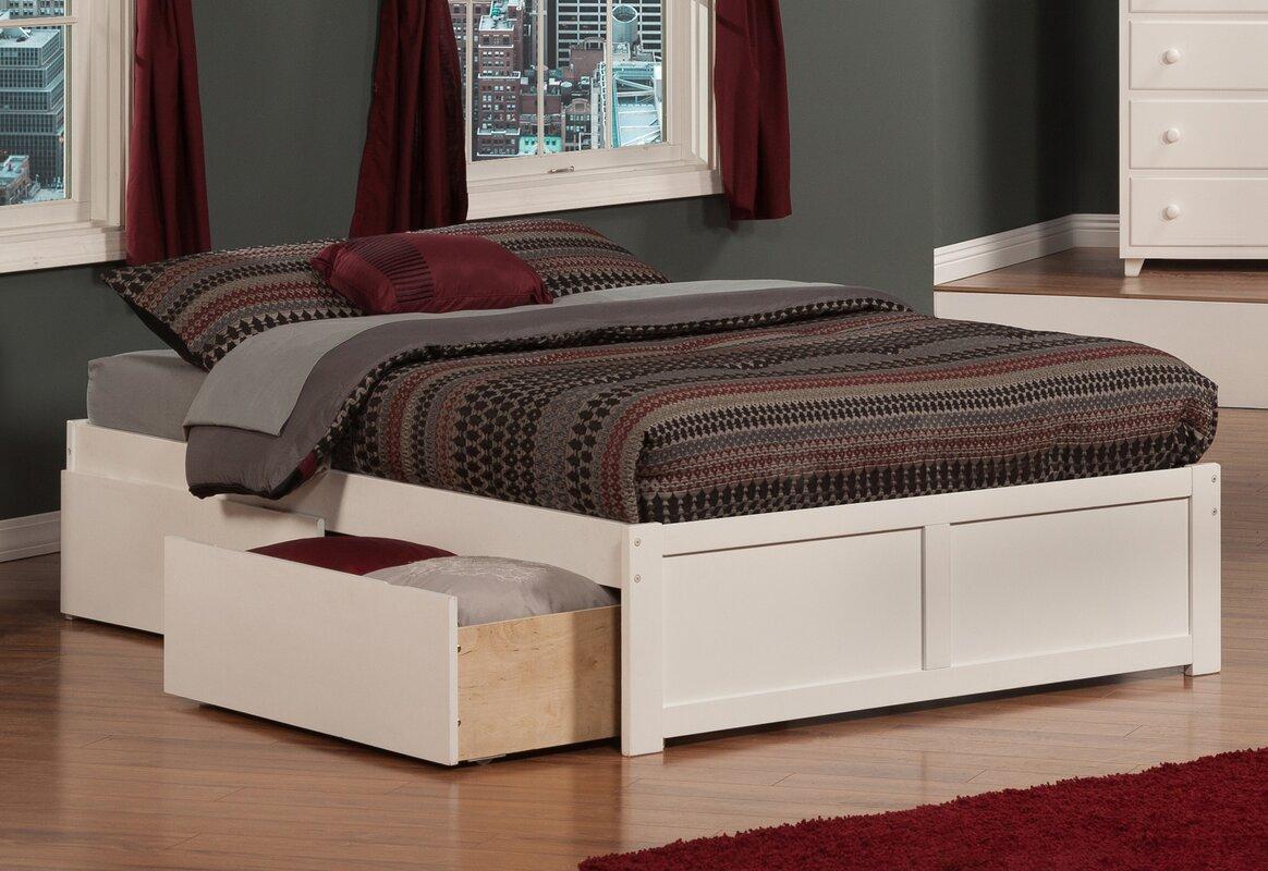 Wrington Storage Platform Bed