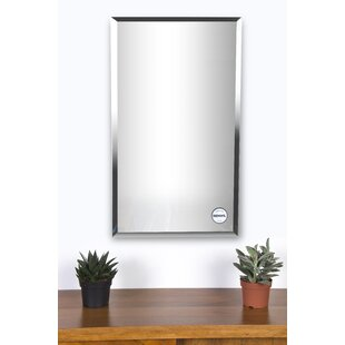 Rectangle Wall Mirrors Youll Love Wayfair - Unique-wall-mirrors-from-opulent-items