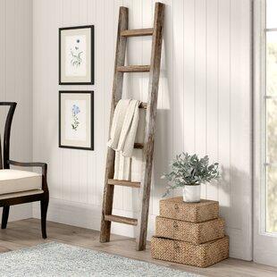 Wood 6 Ft.Blanket Ladder