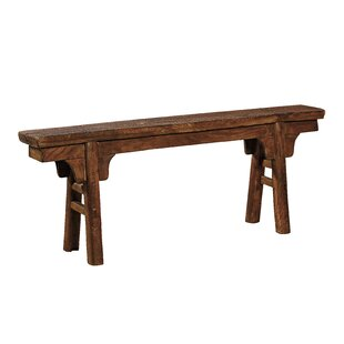 Rania Wood Bench by Millwood Pines