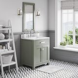 Madison 30 Single Bathroom Vanity Set with Mirror by Latitude Run
