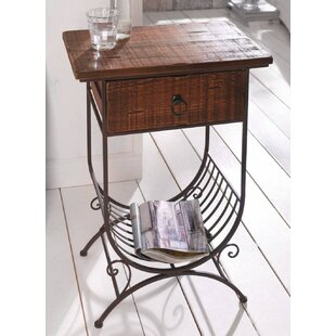 Sealrock End Table with Storage by Canora Grey