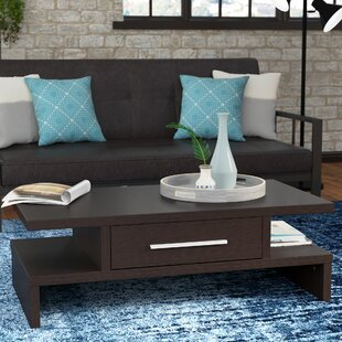 Wylie Rectangular 1 Drawer Coffee Table Zipcode Design