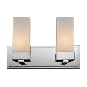 Sapphire 2-Light Vanity Light