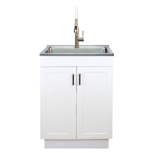 Laundry Sink Base Cabinets Wayfair Ca