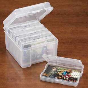 Order Photo Storage Plastic Box By Miles Kimball