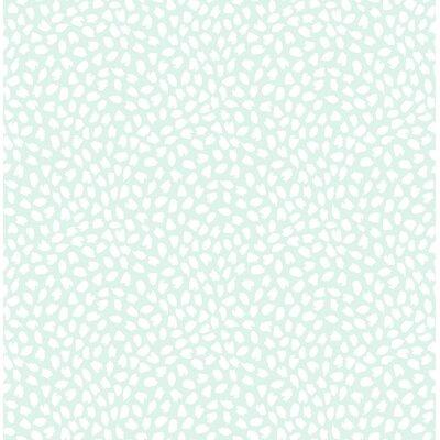 Latitude Run Heloise Confetti 32.81' L x 20.5 W Wallpaper Roll Color: Soft Green