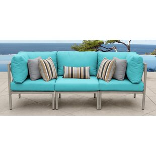 Carlisle Patio Sofa with Cushions