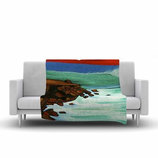 Read Reviews Nathan Gibbs Art Rights off Point Fleece Blanket ByEast Urban Home