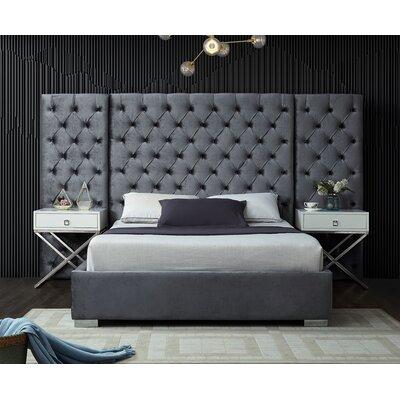 Sanders Upholstered Platform Bed