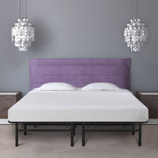 7 Gel Memory Foam Mattress And Bed Frame Foundation Set