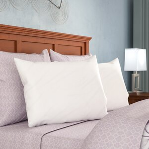 Premium 400 Thread Count Zippered Pillow Protector (Set of 2)