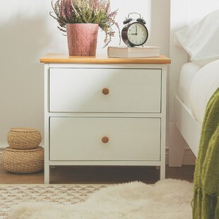 Tipton 2 Drawer Nightstand by Canora Grey