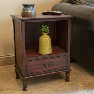 India End Table with Storage