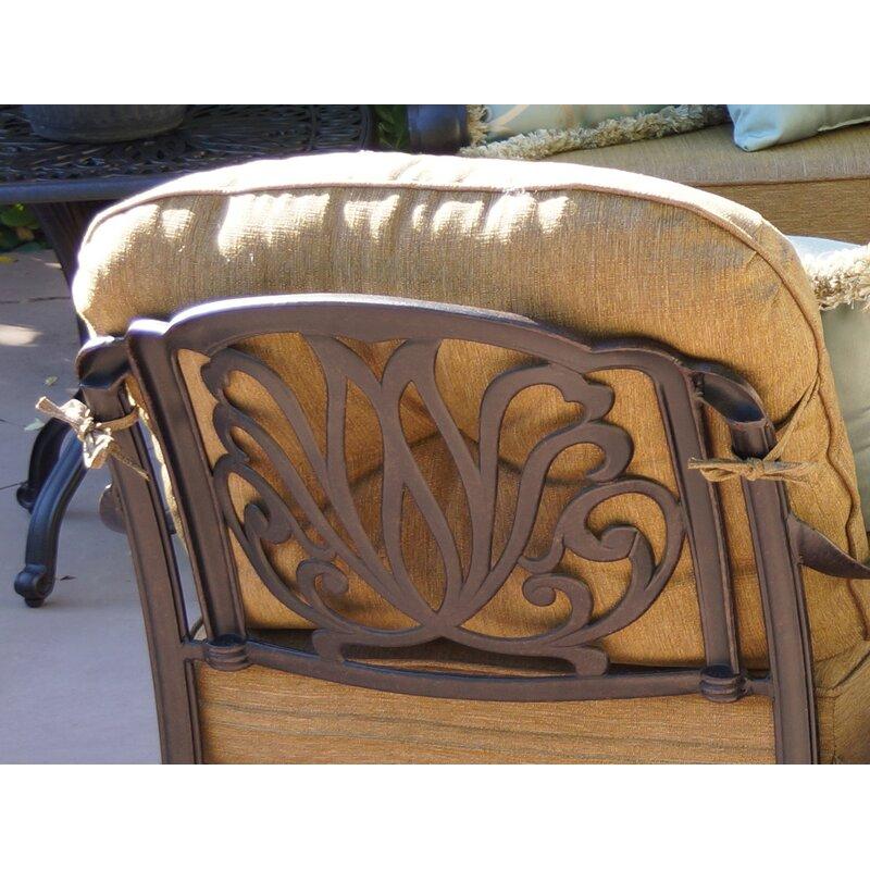 Lebanon Club Patio Chair with Cushion
