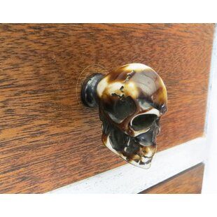 Skull Resin Drawer Novelty Knob