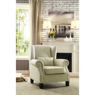 Woodstock Wing back Chair by Dar by Home Co