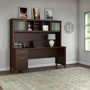 Whitford Computer Desk with Hutch
