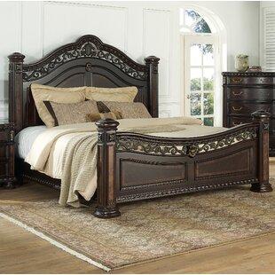 Pinehur Panel Bed