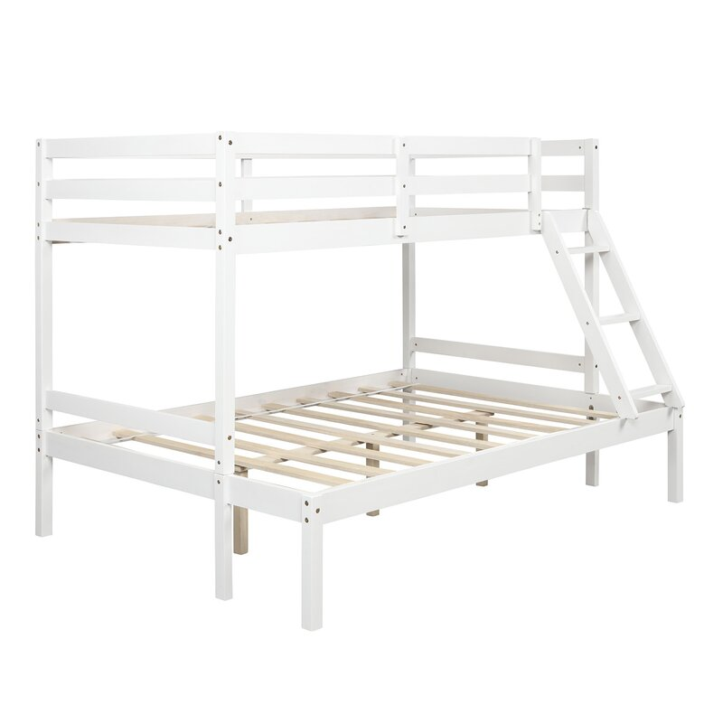 Isabelle Max Dunlop Twin Over Full Bunk Bed Wayfair