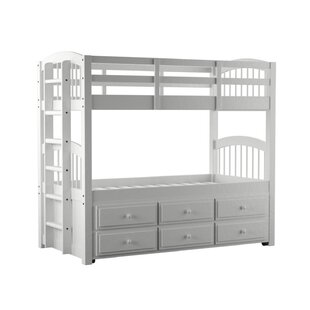 Coleford Twin Over Twin Bunk Bed with Trundle by Isabelle amp Max